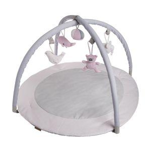 Baby Activity Spielbogen klassisch rosa/baby rosa/weiß