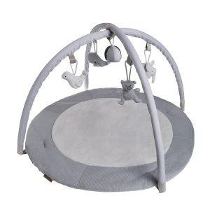 Baby Activity Spielbogen silbergrau/grau/weiß