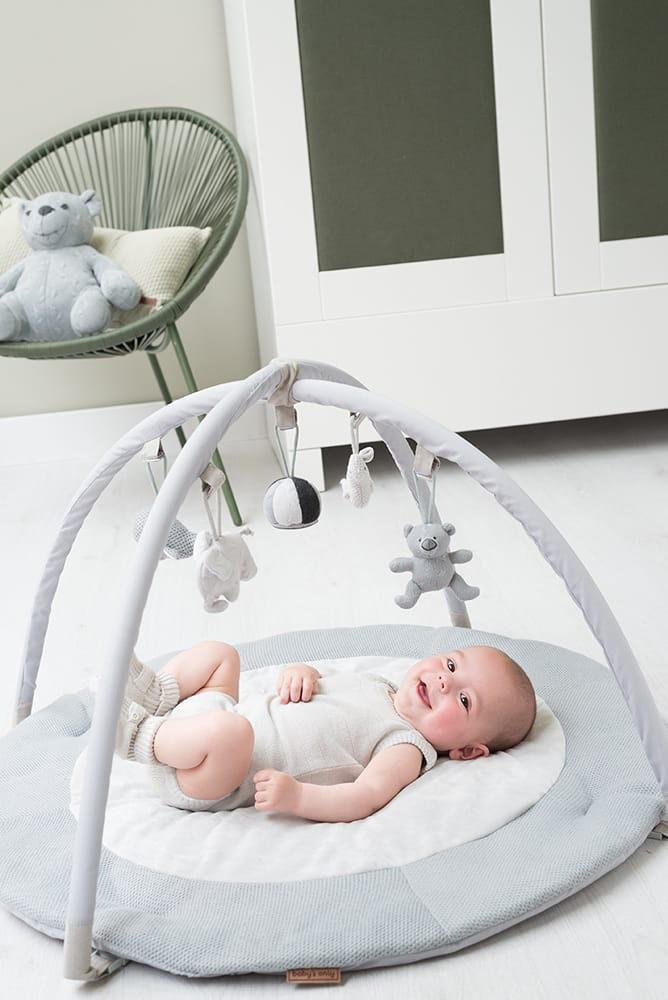baby activity spielbogen silbergraugrauwei