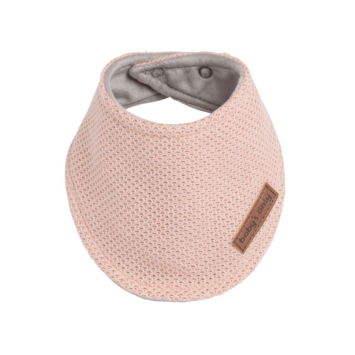 baby bandana classic blush