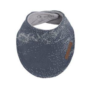 Baby bandana Marble granit/grau