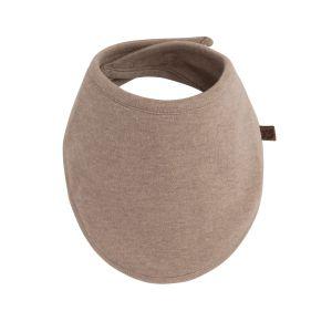 Baby bandana Melange clay