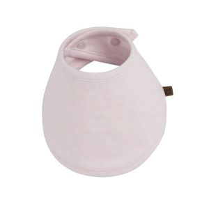Baby bandana Melange klassisch rosa
