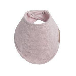 Baby bandana Sparkle silber-rosa melee