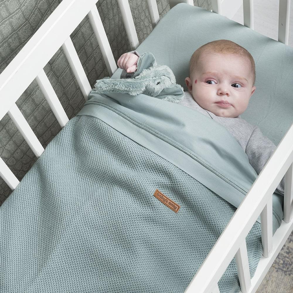 baby bettlaken mint