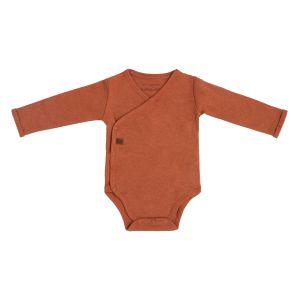Baby Body langen Ärmeln Melange honey - 50