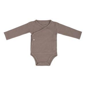 Baby Body langen Ärmeln Pure mokka - 50