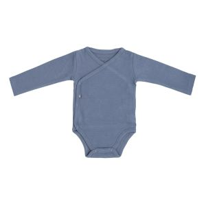 Baby Body langen Ärmeln Pure vintage blue - 50