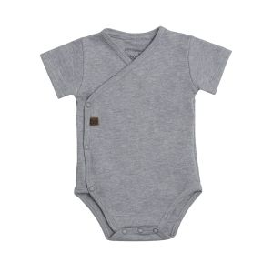 Baby Body Melange grau - 50