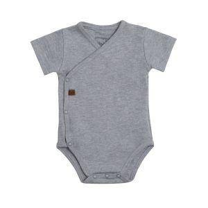 Baby Body Melange grau - 68