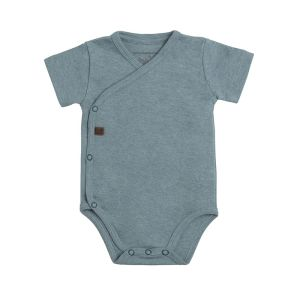 Baby Body Melange stonegreen - 62