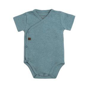 Baby Body Melange stonegreen - 68