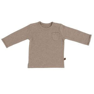 Baby Pullover Melange clay - 50