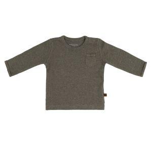 Baby Pullover Melange khaki - 50