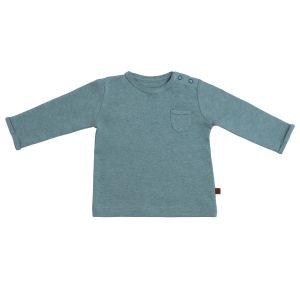 Baby Pullover Melange stonegreen - 50