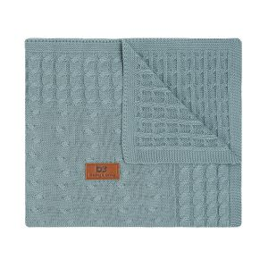Babydecke Cable stonegreen