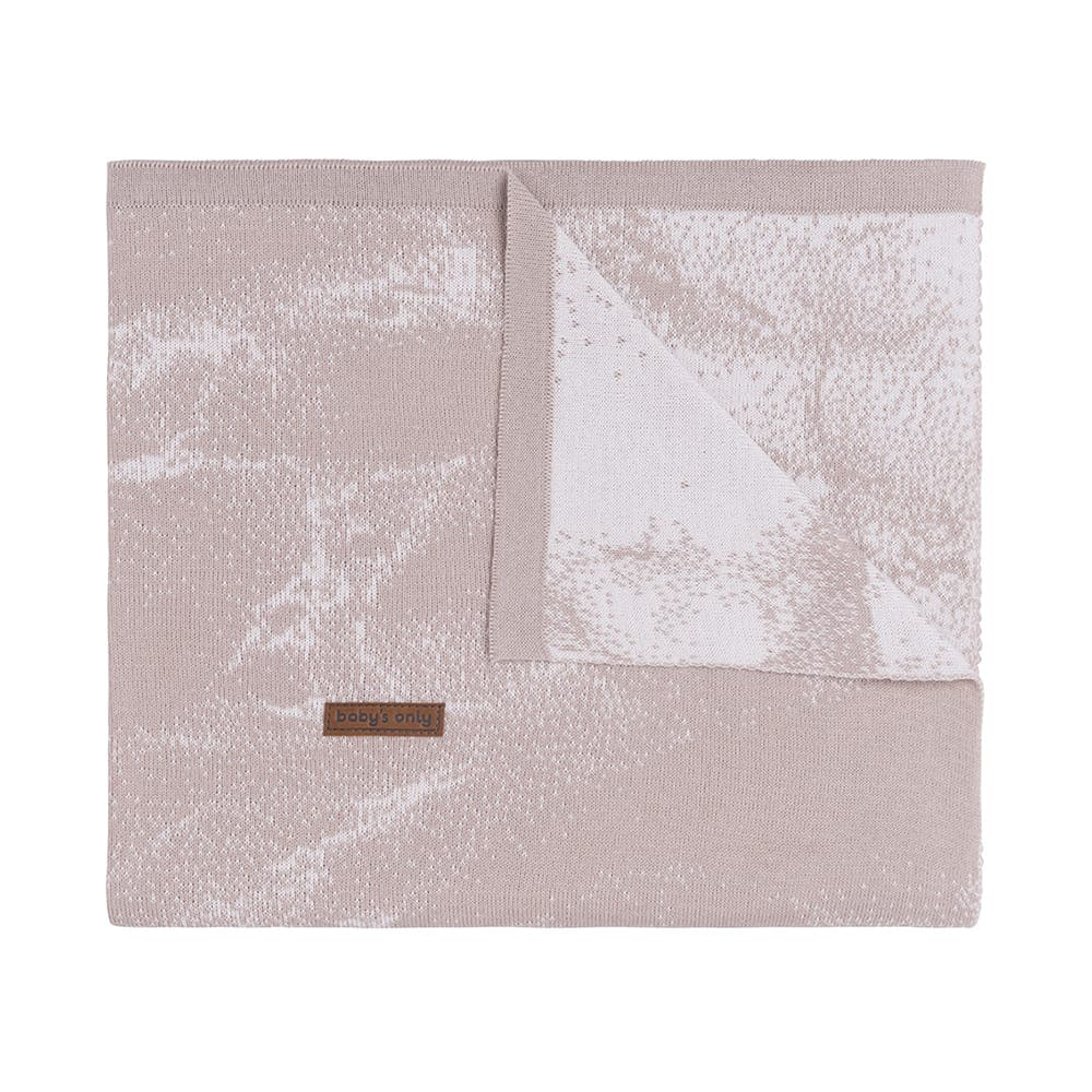 babydecke marble alt rosaklassisch rosa