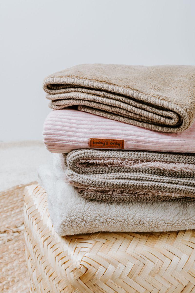 babydecke sense alt rosa
