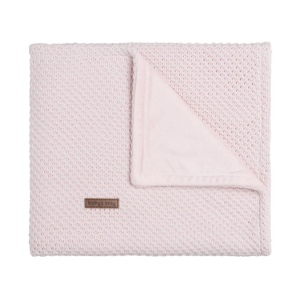babydecke soft flavor klassisch rosa