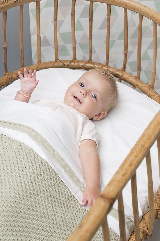 babydecke soft flavor stonegreen