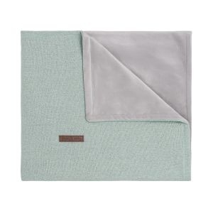 Babydecke soft Sparkle gold-mint melee