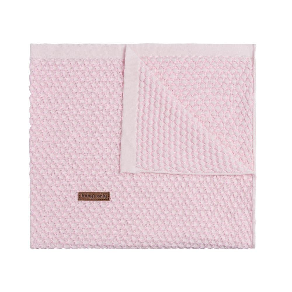 babydecke sun klassisch rosababy rosa