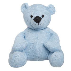 Bär Cable baby blau - 35 cm