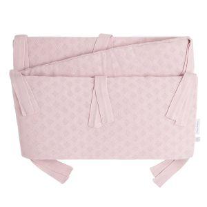 Bett/Laufgitter Nestchen Reef misty pink