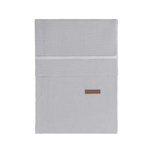 Bettbezug Breeze grau - 100x135