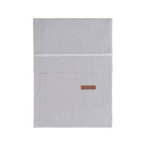 Bettbezug Breeze grau - 100x135