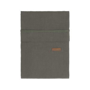 Bettbezug Breeze khaki - 100x135