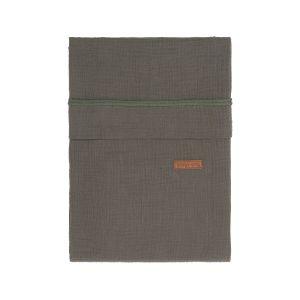 Bettbezug Breeze khaki - 100x135