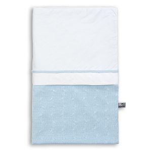 Bettbezug Cable baby blau - 100x135