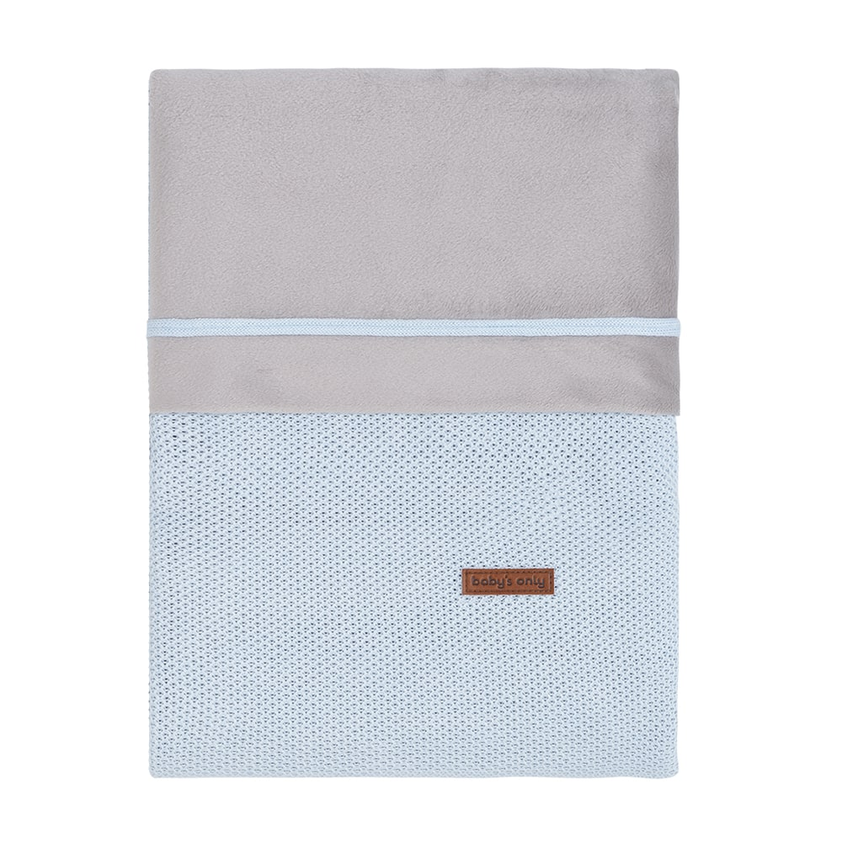 bettbezug classic puderblau 100x135