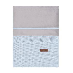 Bettbezug Classic puderblau - 100x135