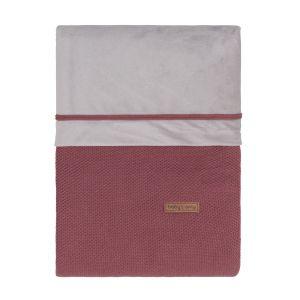 Bettbezug Classic stone red - 100x135 cm