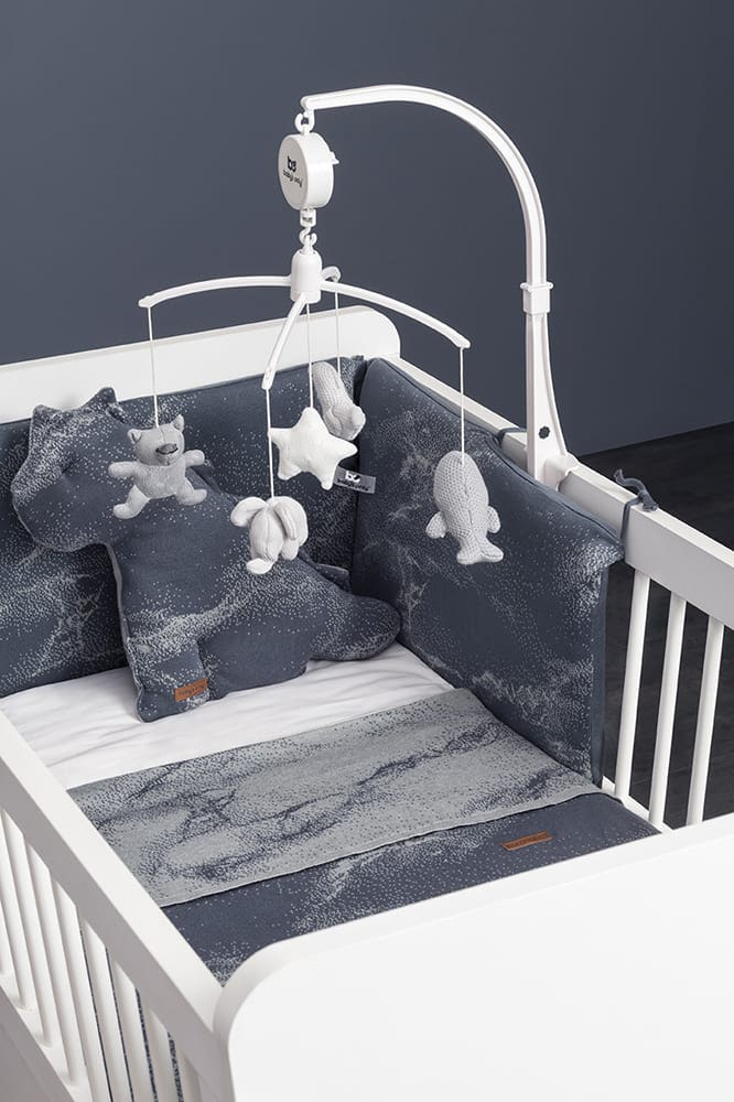 bettbezug marble cool greylila 100x135