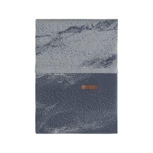 Bettbezug Marble granit/grau - 100x135