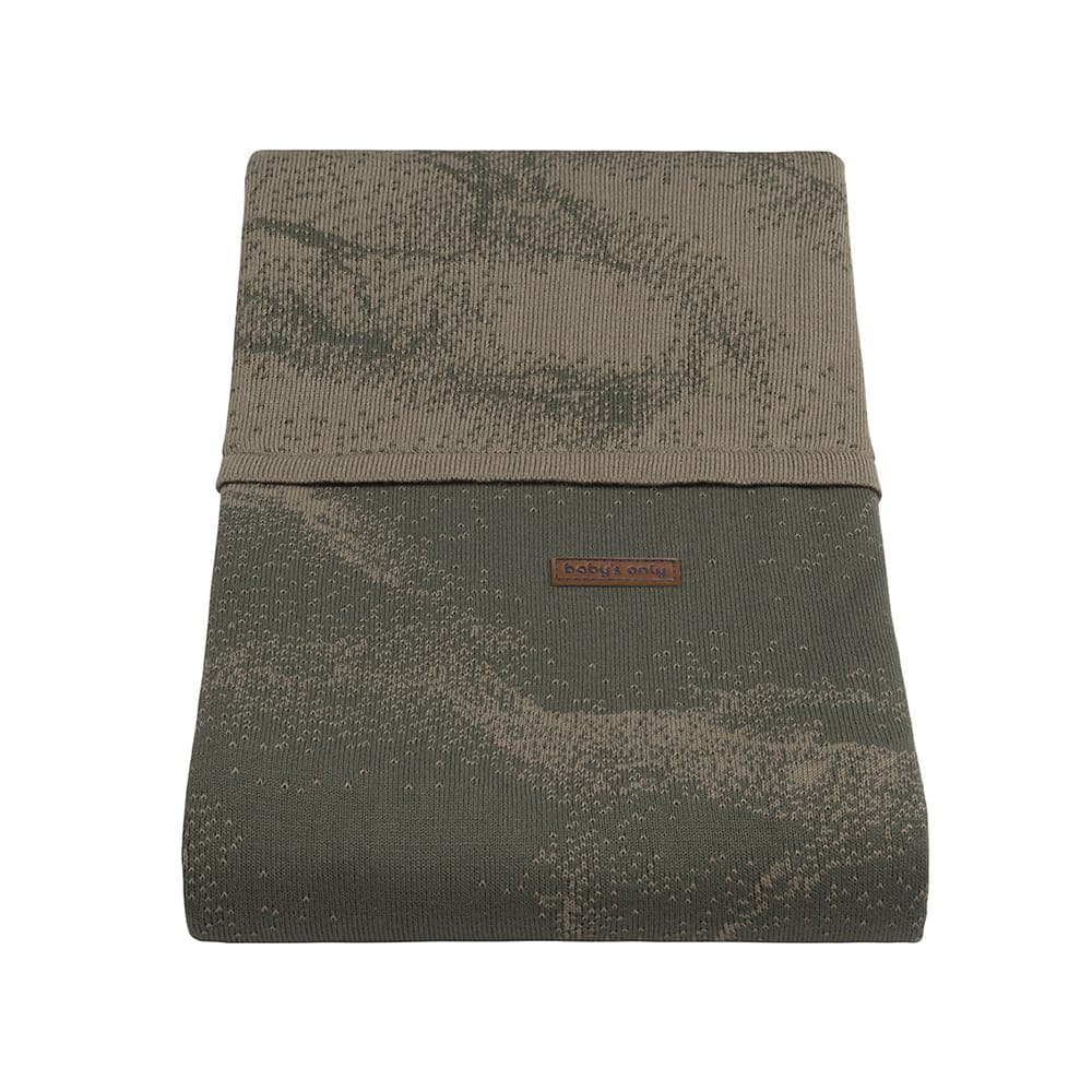 bettbezug marble khakiolive 100x135