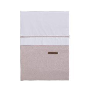 Bettbezug Sparkle silber-rosa melee - 100x135