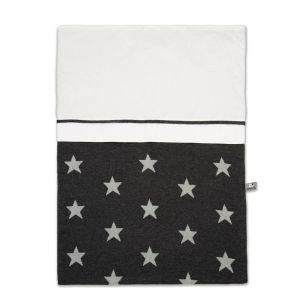 Bettbezug Star antrazit/grau - 100x135