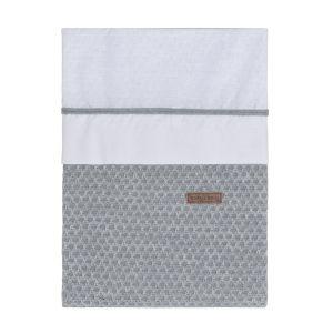 Bettbezug Sun grau/silbergrau - 100x135