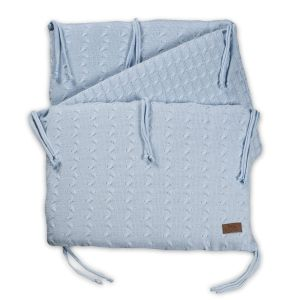 Bettnest Cable baby blau