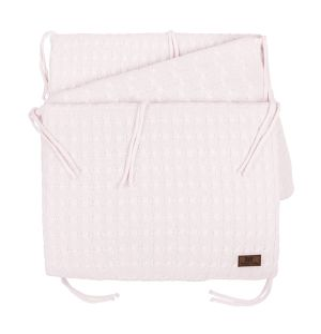 Bettnest Cable klassisch rosa