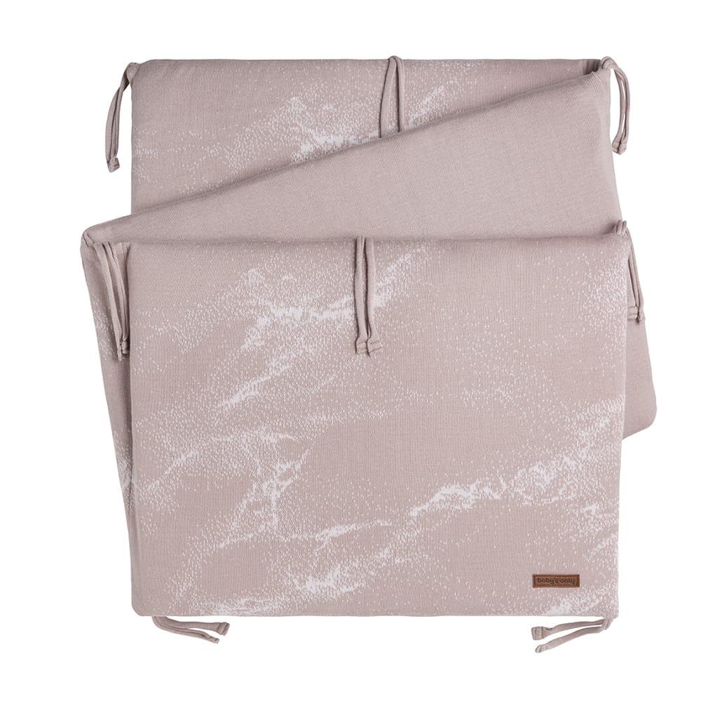 bettnest marble alt rosaklassisch rosa