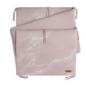 Bettnest Marble alt rosa/klassisch rosa