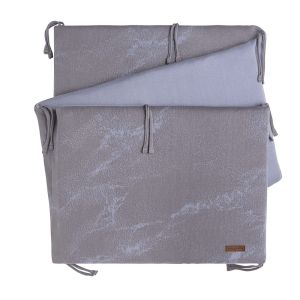 Bettnest Marble cool grey/lila