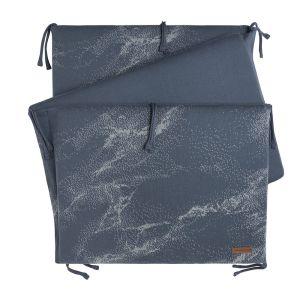 Bettnest Marble granit/grau