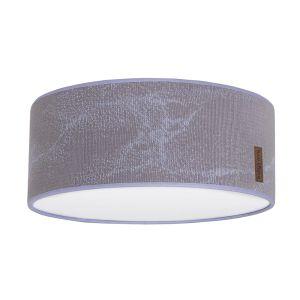Deckenleuchte Marble cool grey/lila - Ø35 cm