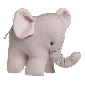 Elefant Sparkle silber-rosa melee